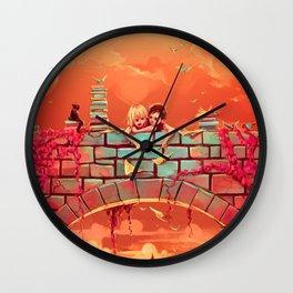 Les promesses d'une romance Wall Clock