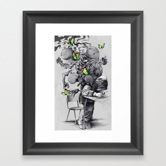 The Creator Framed Art Print