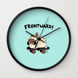 PUG. Wall Clock