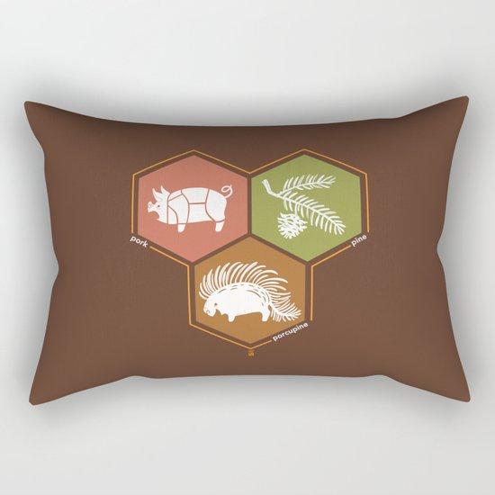 simple math Rectangular Pillow