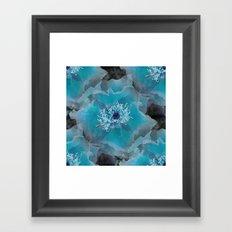 Blueish Framed Art Print