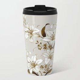 Flowers 9 Metal Travel Mug