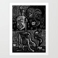 Sampson's dream Art Print