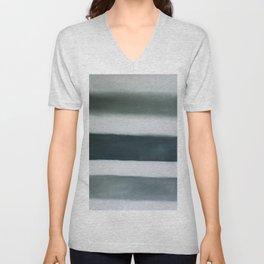 grey strata Unisex V-Neck