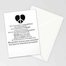 A New Pledge Stationery Cards