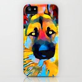 German Shepherd 2 iPhone Case
