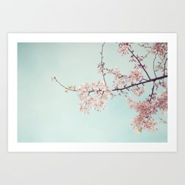 Spring happiness Art Print