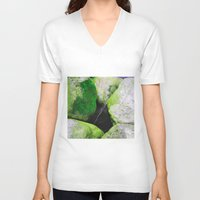 moss V-neck T-shirts featuring Moss by Darkest Devotion
