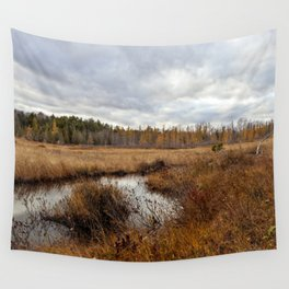 autumn marsh Wall Tapestry