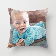 Tummy Time Throw Pillow