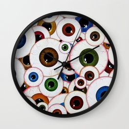 All Eyes On Me Wall Clock