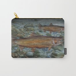 Steelhead Trout Migration in Fall Carry-All Pouch