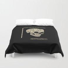Skullography  Duvet Cover