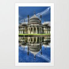 Brighton Royal Pavilion Art Print