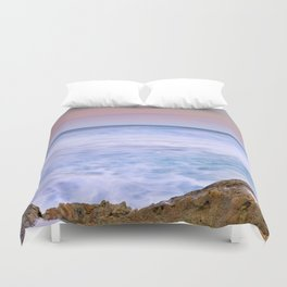 Looking at the waves... Duvet Cover