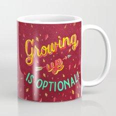 Growing Old/Growing Up Mug