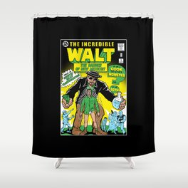 The Incredible Walt Shower Curtain