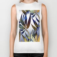 bamboo Biker Tanks featuring Bamboo by Artisimo