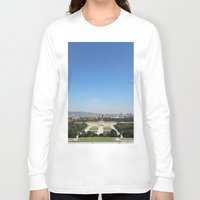 vienna Long Sleeve T-shirts featuring Vienna - Cityscape by Andrew Schmidt