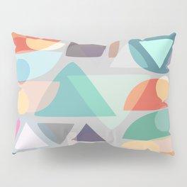 Pastel Geometry 2 Pillow Sham