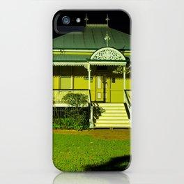 Wynnum Shire Clerk's Cottage iPhone Case