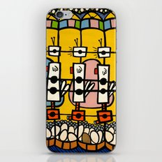 VIDEO CHICKENBOT INSPECTORS and the GOLDEN EGG MERRY-GO-ROUND iPhone & iPod Skin
