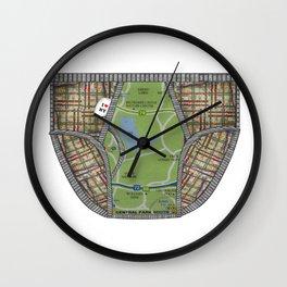 UNDERWEAR LOVE: NY UNDIES Wall Clock