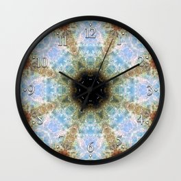 Space Mandala no7 Wall Clock