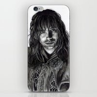 kili iPhone & iPod Skins featuring Kili by laya rose