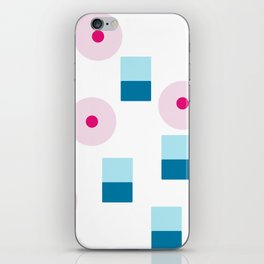 Boy Girl Pattern iPhone Skin
