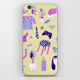 daily life iPhone Skin