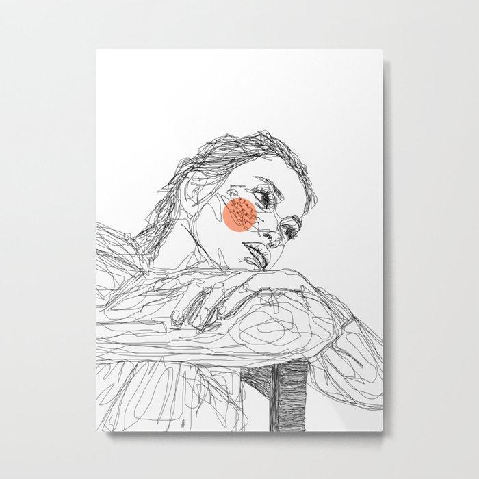penni Metal Print