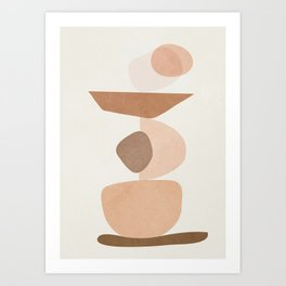 Balancing Elements II Art Print