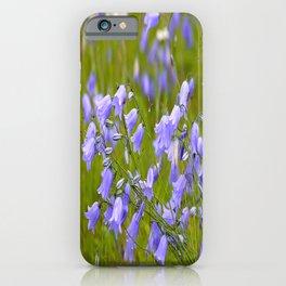 Bluebells Meadow #decor #society6 #buyart iPhone Case