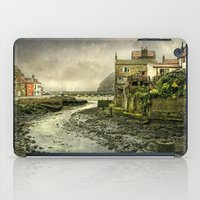 cassia beck iPad Cases featuring The Beck at Staithes by tarrby/Brian Tarr