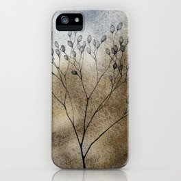 Autumn in the meadow iPhone Case