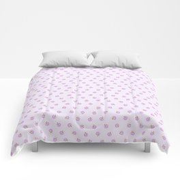 Relax & Eat More Ice Cream in Purple Comforters