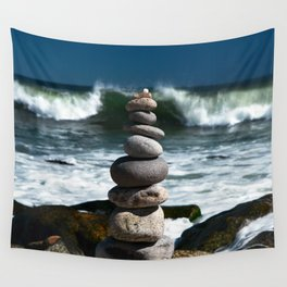 Parting the Waves Wall Tapestry
