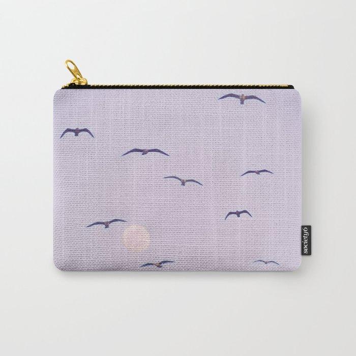 Seagulls & Moon by Murray Bolesta Carry-All Pouch