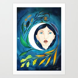bright light Art Print
