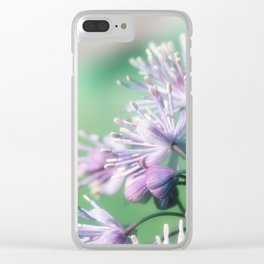 Rue close up Clear iPhone Case