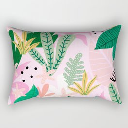 Into the jungle - sunup Rectangular Pillow