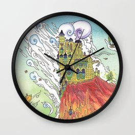 Cliff Castle Wall Clock
