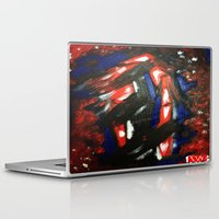 rave Laptop & iPad Skins featuring Rave by Myles Hunt