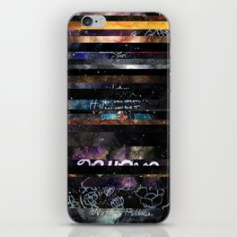 horizontal  iPhone Skin