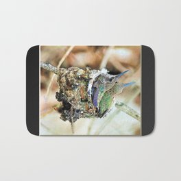 The Hummingbird Nest. © J&S Montague. Bath Mat
