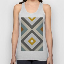 Mid West Geometric 04 Unisex Tank Top