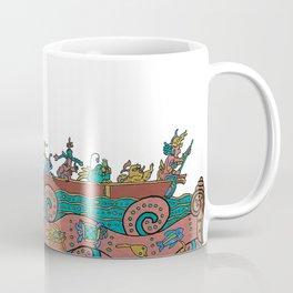 Puerto Morelos Light House (Antique Mexican Style) Coffee Mug