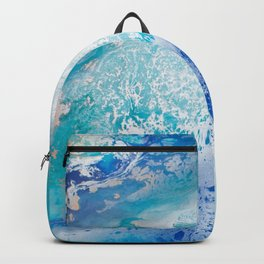 Into the Blue Lagoon Backpack