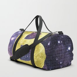 Bitcoin to the Moon Duffle Bag